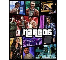 narcos gta poster Photographic Print