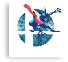 Super Smash Bros Greninja Canvas Print