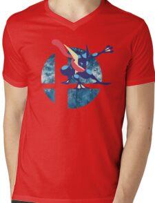 Super Smash Bros Greninja Mens V-Neck T-Shirt