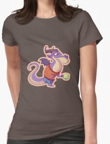 Dragon Tea Womens Fitted T-Shirt