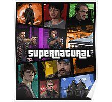 supernatural gta poster Poster