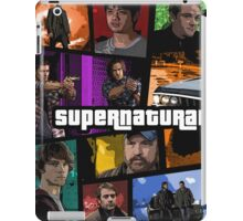 supernatural gta poster iPad Case/Skin