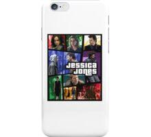 jessica jones gta poster iPhone Case/Skin