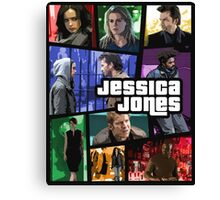 jessica jones gta poster Canvas Print