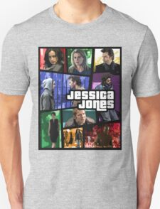 jessica jones gta poster Unisex T-Shirt