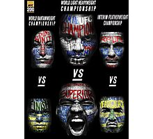 UFC 200 Championship Fights Photographic Print
