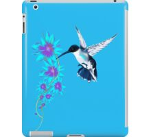 Humming Bird In Blue iPad Case/Skin