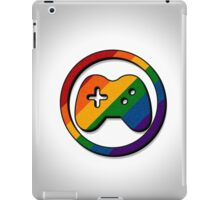 Rainbow Game Controller Icon iPad Case/Skin