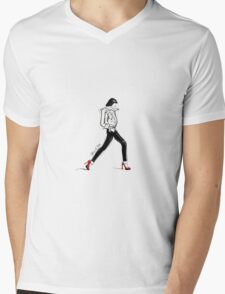 Saturday Night Mens V-Neck T-Shirt