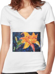 Tiger Lily Women's Fitted V-Neck T-Shirt