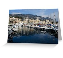 Postcard from Monte Carlo Greeting Card