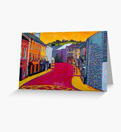 Bandon, Cork - Oliver Plunkett Street (Ireland) Greeting Card