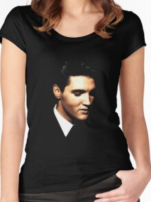 Elvis Women's Fitted Scoop T-Shirt