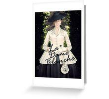 Outlander/La Dame Blanche  Greeting Card