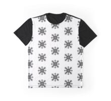 Aztec Snowflake. Graphic T-Shirt