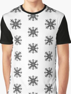 Aztec Snowflake. Graphic T-Shirt