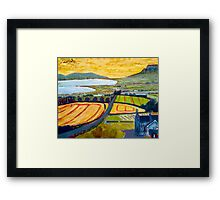 Benevenagh & Lough Foyle, Ireland Framed Print