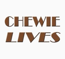 Chewie Lives One Piece - Short Sleeve