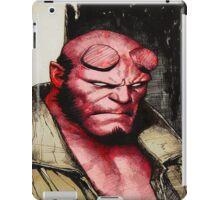 Red head iPad Case/Skin