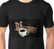 Old Book and Black Coffee Unisex T-Shirt