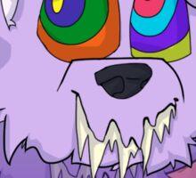 TV Dog Sticker - Design 3 Sticker