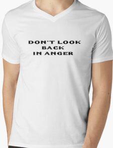 Oasis Inspirational Motivational Lyrics Mens V-Neck T-Shirt