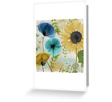 Morning Blue II Greeting Card