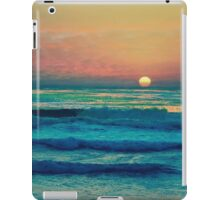 Bouncing Along The Ocean Waves iPad Case/Skin