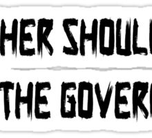 Pink Floyd Mother Should I Trust The Government T Shirt Sticker
