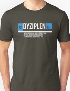 Dyziplen Black T-Shirt