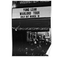 YUNG LEAN - WARLORD POSTER  Poster