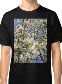 Thousands of White Flowers Classic T-Shirt