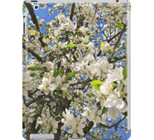 Thousands of White Flowers iPad Case/Skin