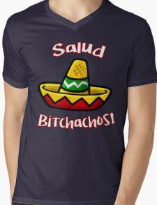 Salud Bitchachos Mens V-Neck T-Shirt