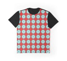 Checkerboard Fractal Optical Illusion Graphic T-Shirt
