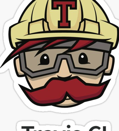 Travis ci Sticker