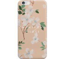 floral tøp iPhone Case/Skin