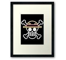 Straw Hat Pirates V1 Framed Print