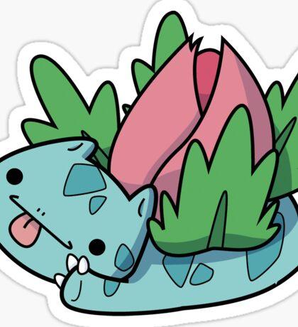 Cute Ivysaur Sticker Sticker