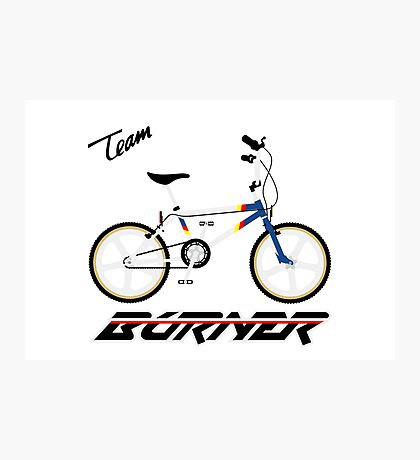 team pro burner Photographic Print