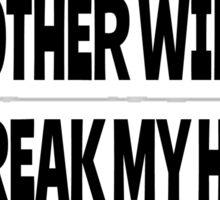 Pink Floyd Lyrics Mother Rock T-Shirts Sticker