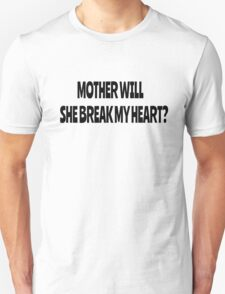 Pink Floyd Lyrics Mother Rock T-Shirts T-Shirt