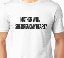 Pink Floyd Lyrics Mother Rock T-Shirts Unisex T-Shirt