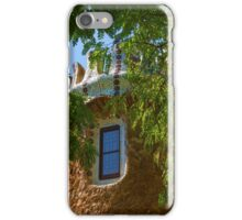 Fairy Tale Building Through the Trees - Impressions Of Barcelona iPhone Case/Skin