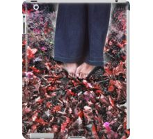 Barefoot in November iPad Case/Skin