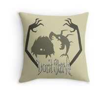 Don't Starve Charlie and Shadow Creatures Throw Pillow