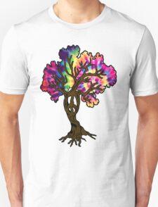 Hippie Peace Tree T-Shirt