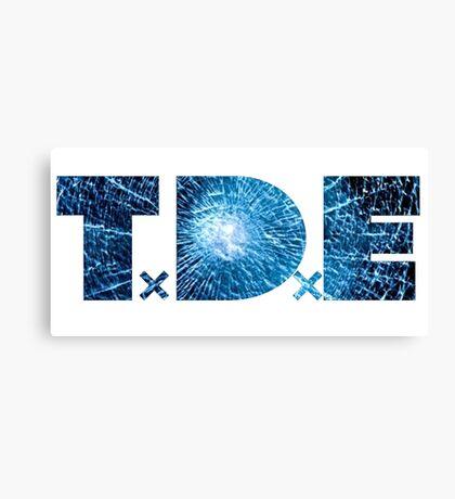 TDE Bullet glass blue Canvas Print