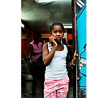Barrio #4 in the Dominican Republic Photographic Print