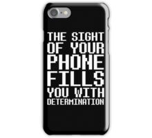 Undertale - Determination  iPhone Case/Skin